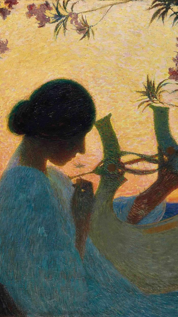 Henri Martin - Muse au crépuscule 1080x1920