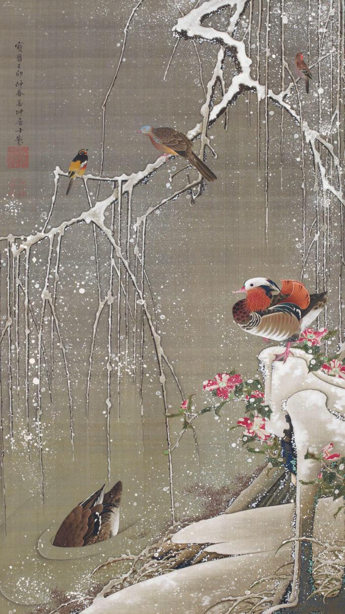 Ito jakuchu - Setchu en ou zu 1080x1920
