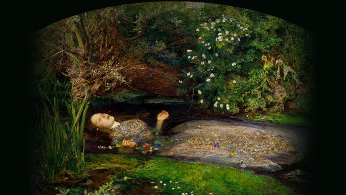 John Everett Millais - Ophelia 1920x1080