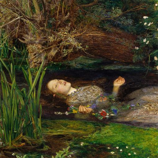 John Everett Millais - Ophelia d