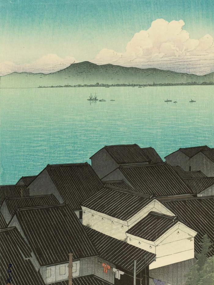 Kawase Hasui - Suruga okitsu cho 2048x2732