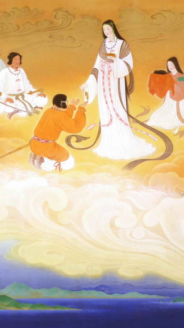 Konno Kakei - Yuniwa no Inaho 1080x1920