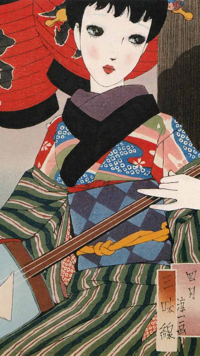 Nakahara Junichi - Musume 12 emaki 04 Shamisen 1080x1920