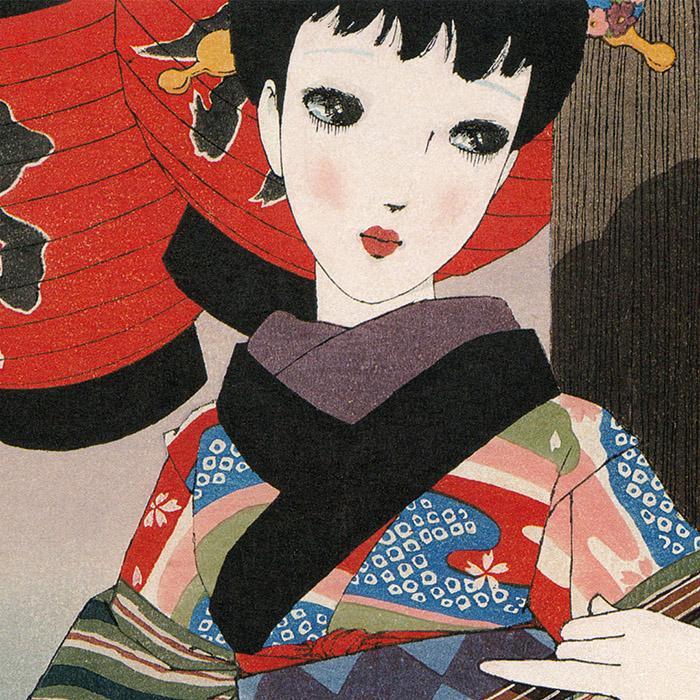 Nakahara Junichi - Musume 12 emaki 04 Shamisen d