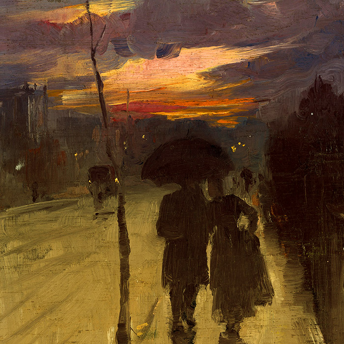 Tom Roberts - Going home d