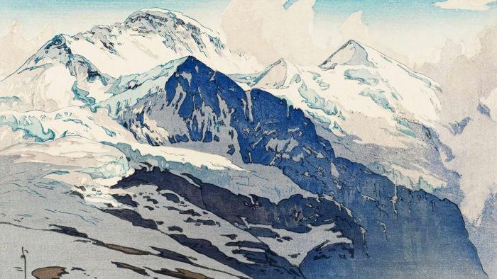 Yoshida Hiroshi - Jungfrau 1920x1080