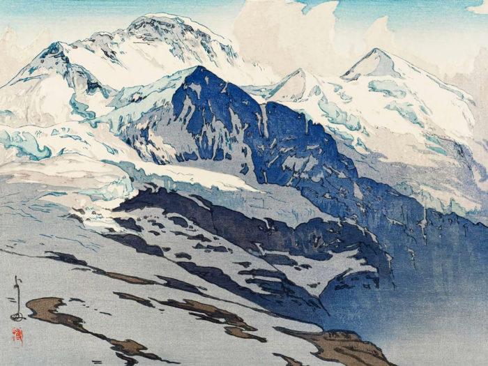 Yoshida Hiroshi - Jungfrau 2732x2048