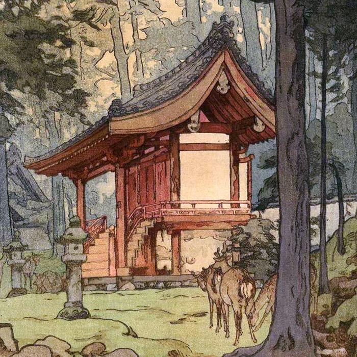 Yoshida Hiroshi - Shinrin no miya d