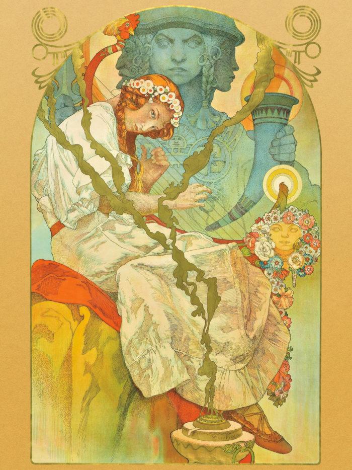 Alfons Maria Mucha - Sventovit 2048x2732
