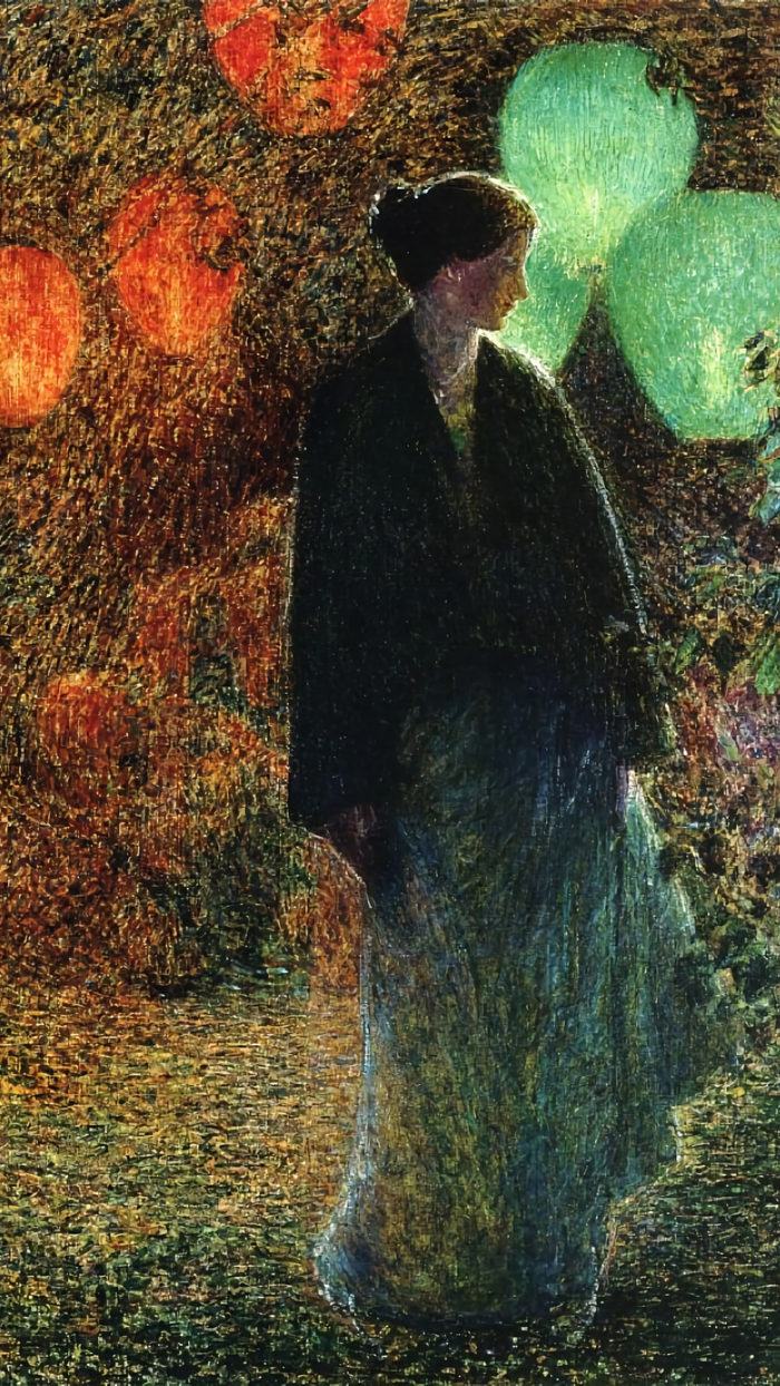 Childe Hassam - July Night 1080x1920