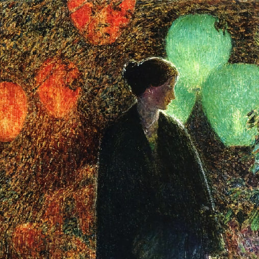 Childe Hassam - July Night d