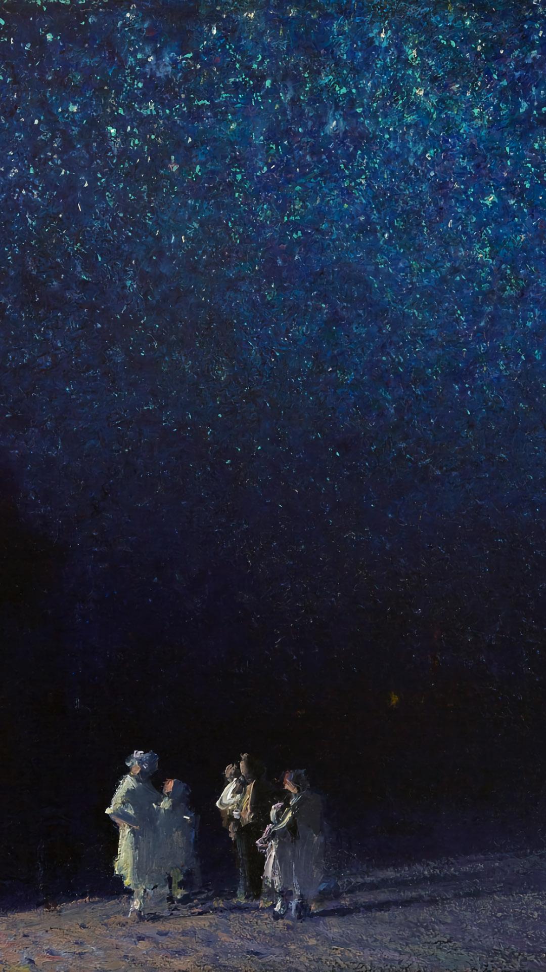 Edward Potthast - Starry Night 1080x1920