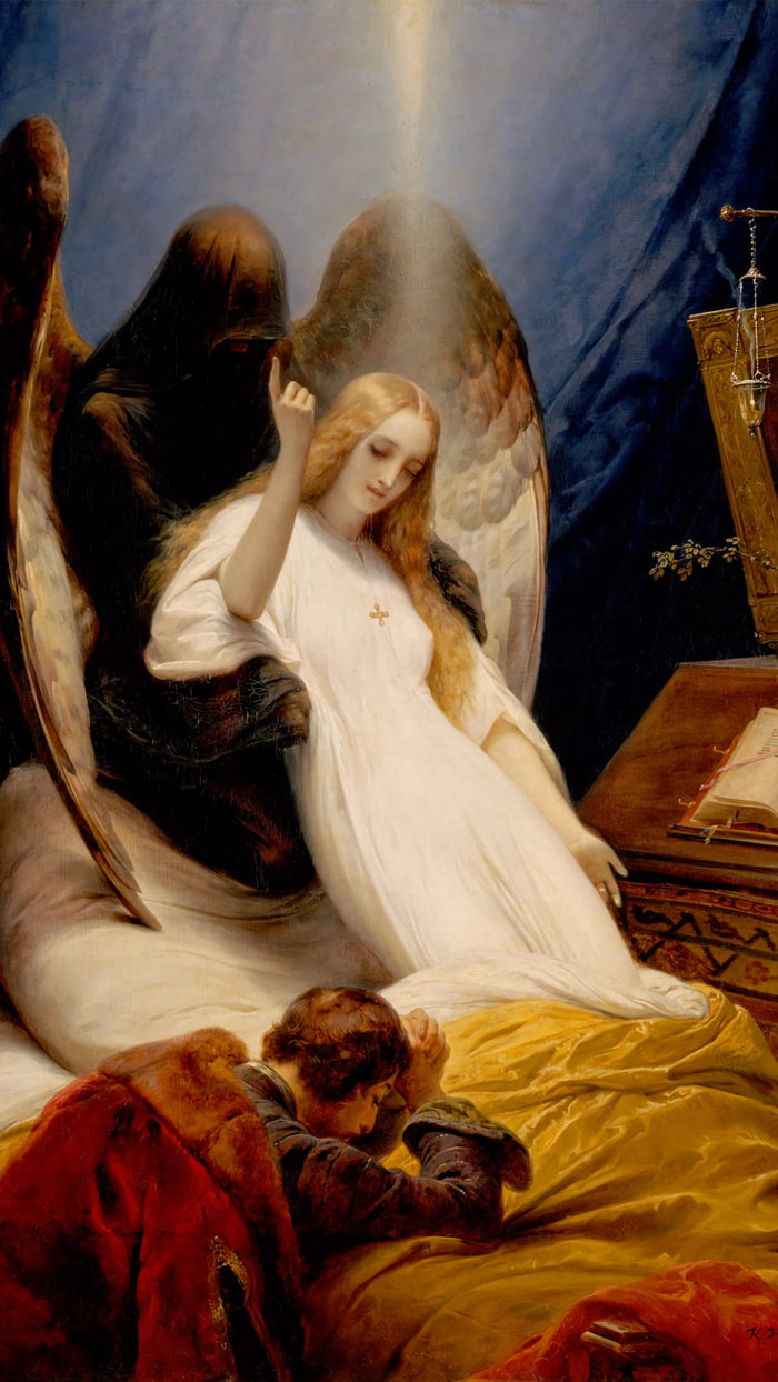Horace Vernet - Angel of the Death 1080x1920