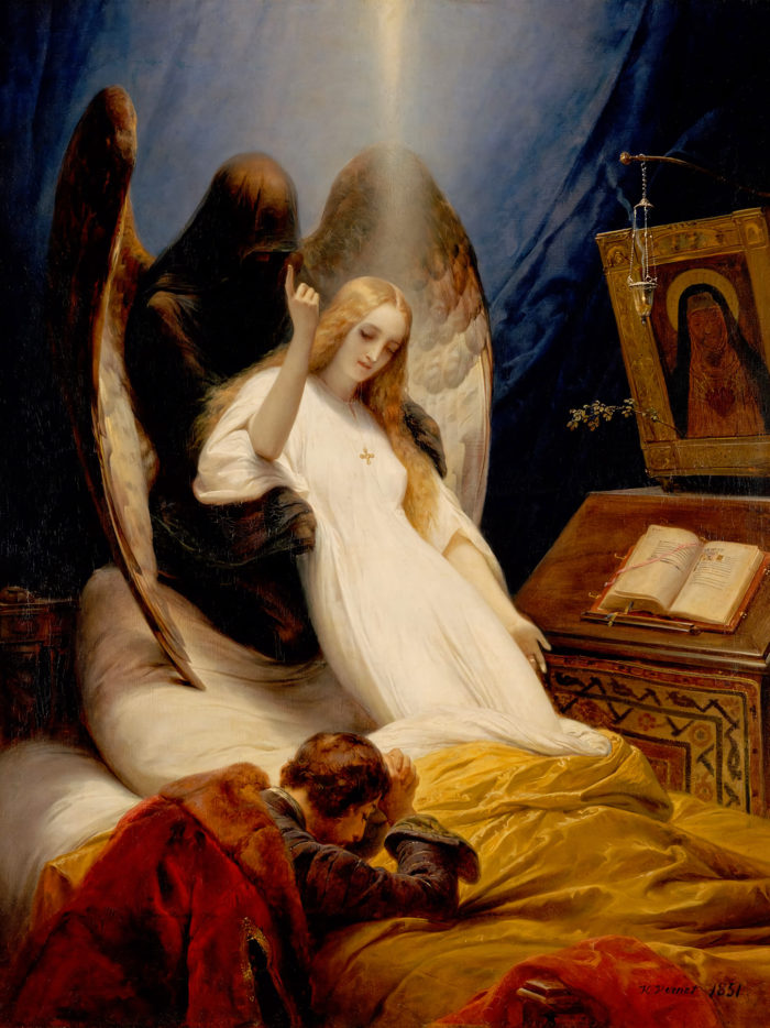 Horace Vernet - Angel of the Death 2048x2732