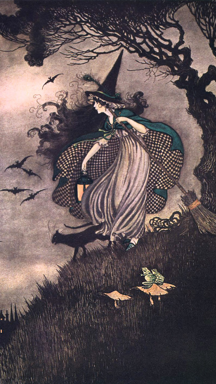 Ida Rentoul Outhwaite - Elves & Fairies witch 1080x1920