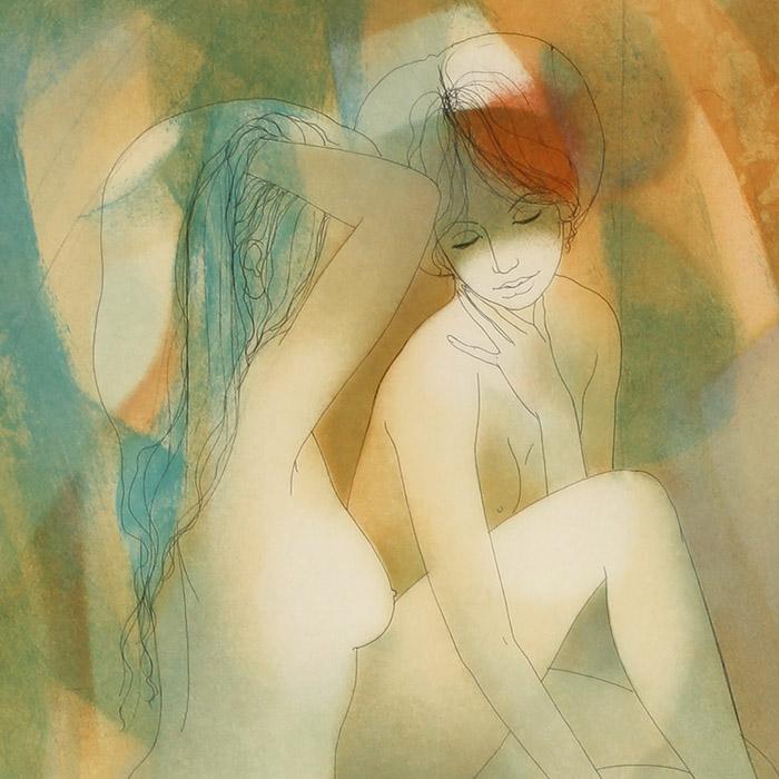 Jean Baptiste Valadie - Female figures d
