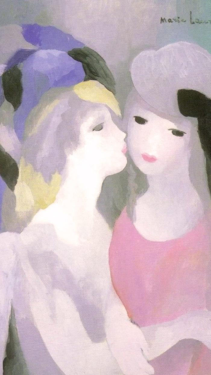 Marie Laurencin - Kiss 1080x1920