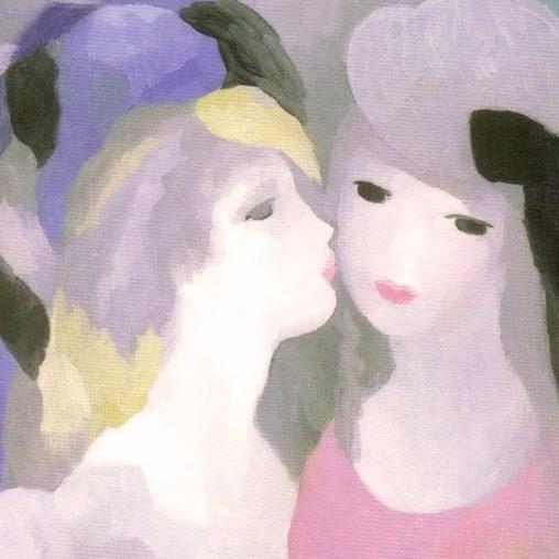 Marie Laurencin - Kiss d
