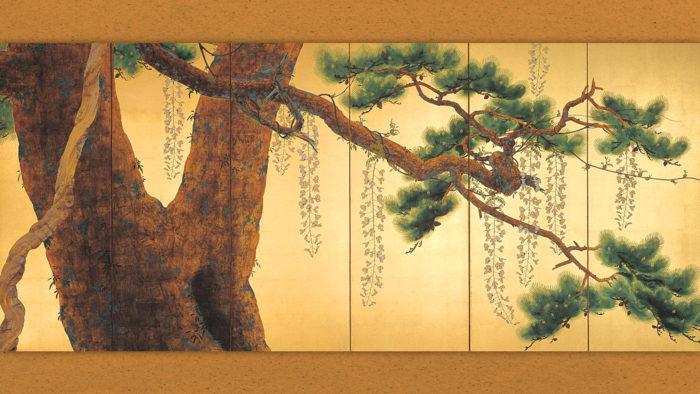 Shimomura Kanzan - Roshohakuro migi 1920x1080