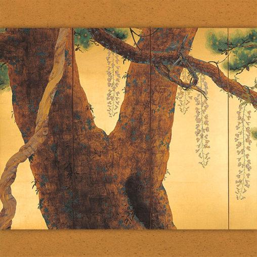 Shimomura Kanzan - Roshohakuro migi d