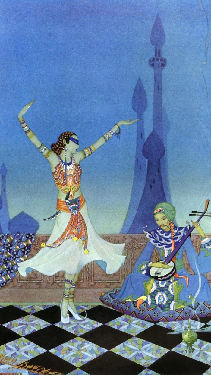 Virginia Frances Sterrett - Morgiana danced with much grace 1080x1920