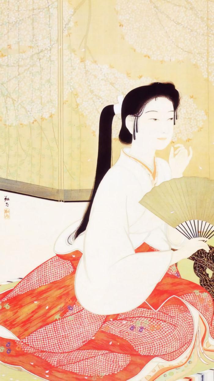 Yasuda Yukihiko - Hana no yoi 1080x1920