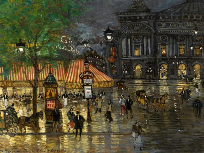 Konstantin Korovin - Place de l'Opera, Paris 2732x2048