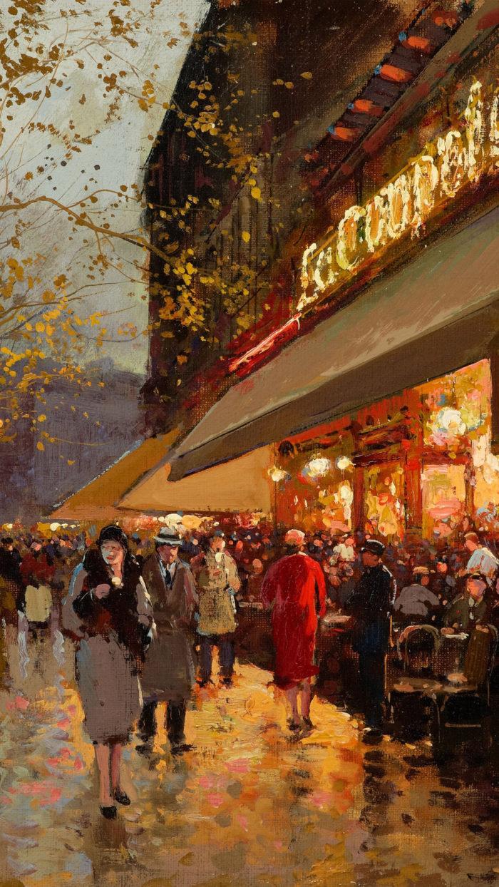 Edouard Leon Cortes - La Coupole Montparnasse 1080x1920
