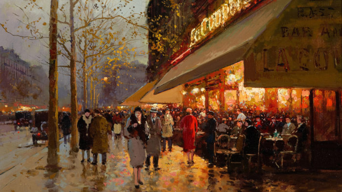 Edouard Leon Cortes - La Coupole Montparnasse 1920x1080