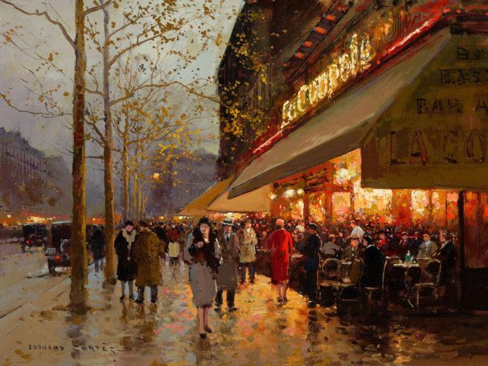 Edouard Leon Cortes - La Coupole Montparnasse 2732x2048