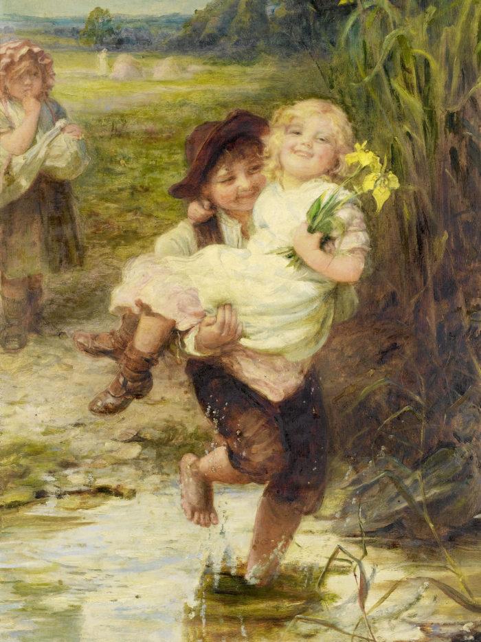 フレデリック・モーガン 勇敢な若者 Frederick Morgan - The young gallant 2048x2732