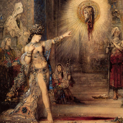 Gustave Moreau The Apparition 1876 d