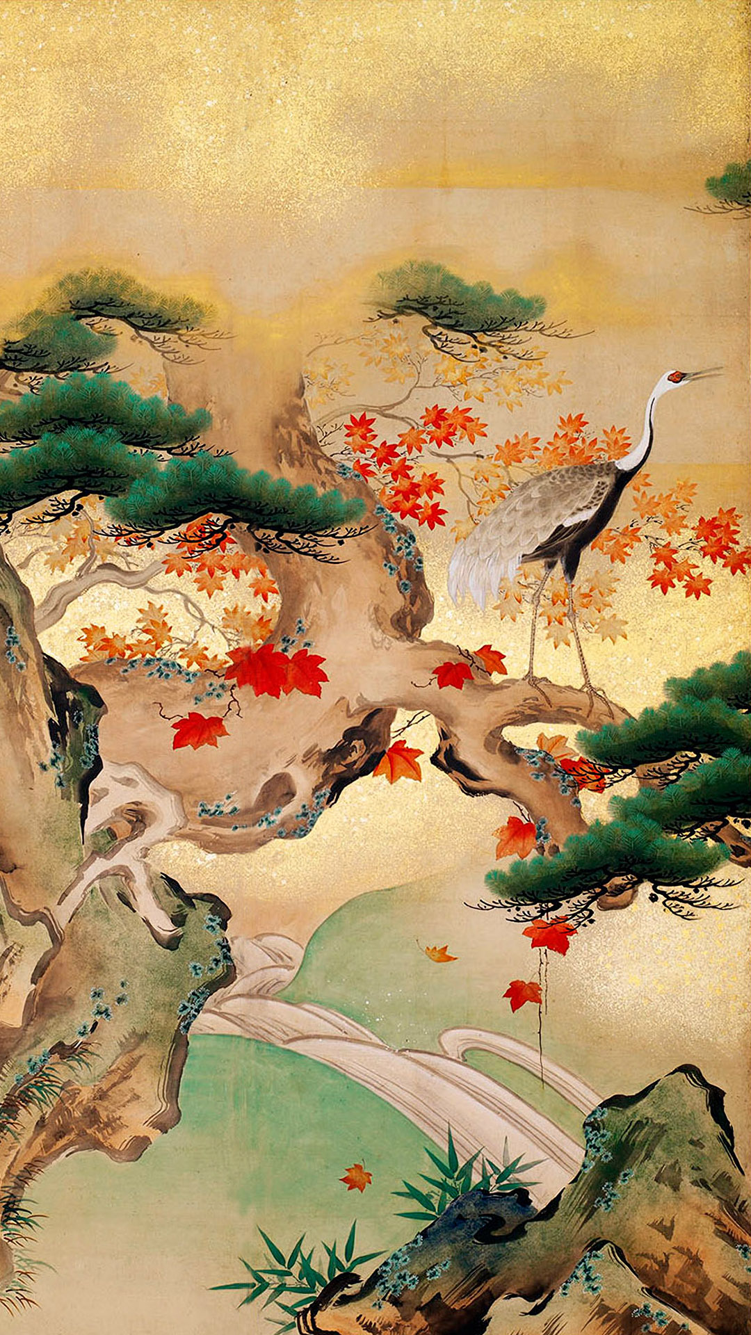 Hashimoto Gaho - Shunju kakutei 1080x1920