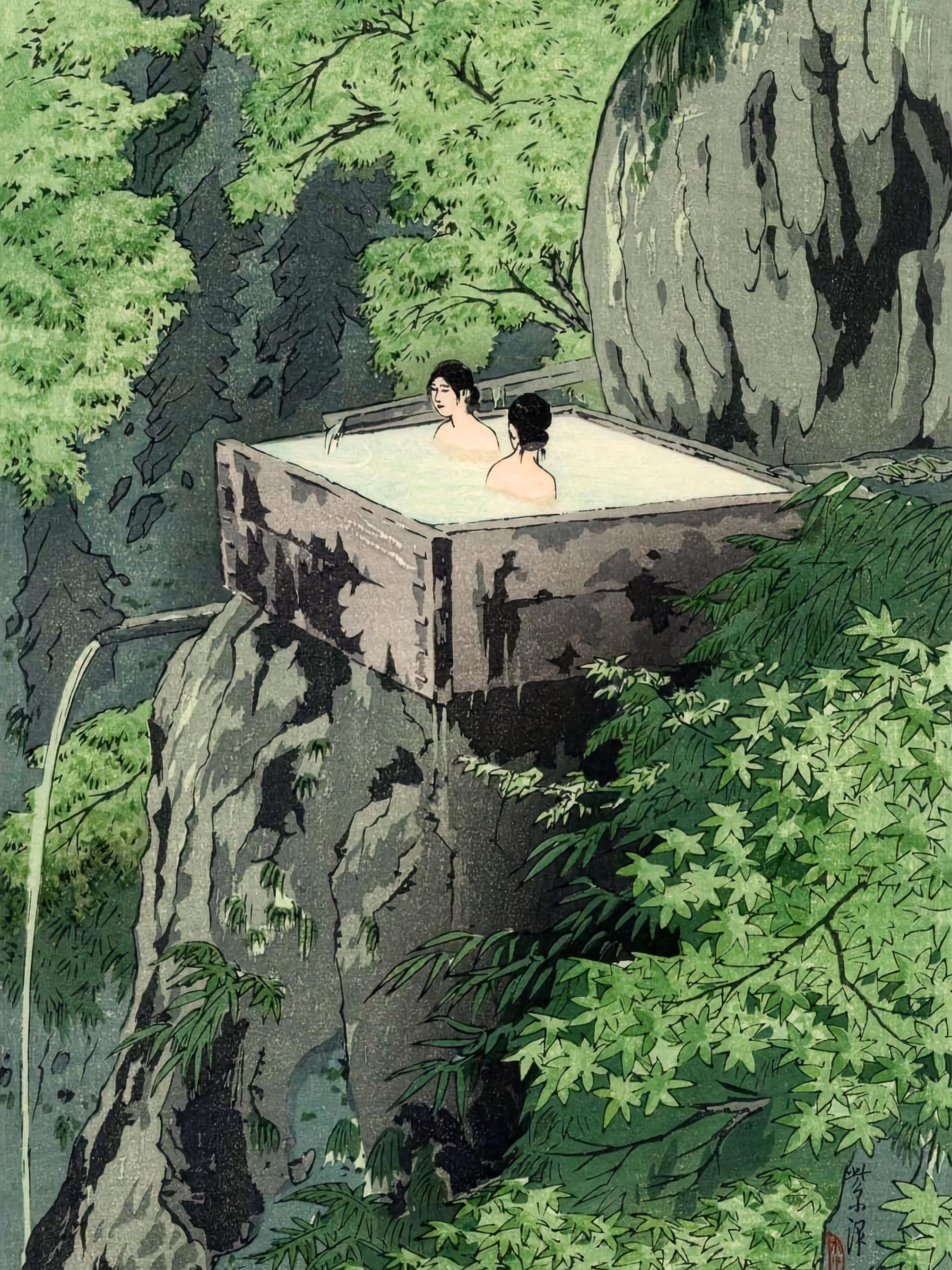 笠松紫浪 信州白骨温泉 Kasamatsu Shiro - Shinshu shirahone onsen 2048x2732