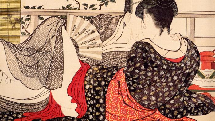 喜多川歌麿 歌まくら Kitagawa Utamaro - Uta makura 1920x1080