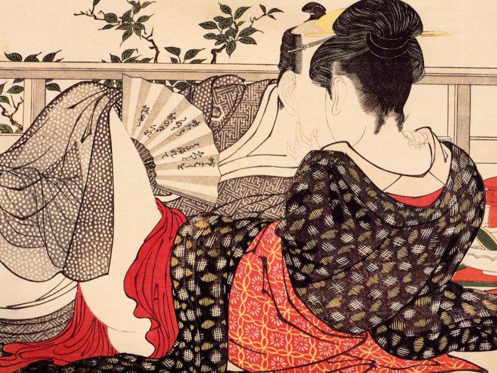 喜多川歌麿 歌まくら Kitagawa Utamaro - Uta makura 2732x2048