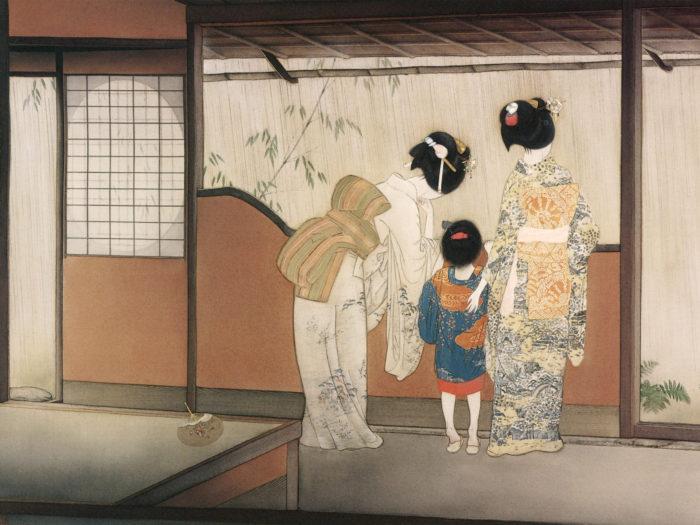 Kitano Tsunetomi - Yoimiya no ame 2732x2048