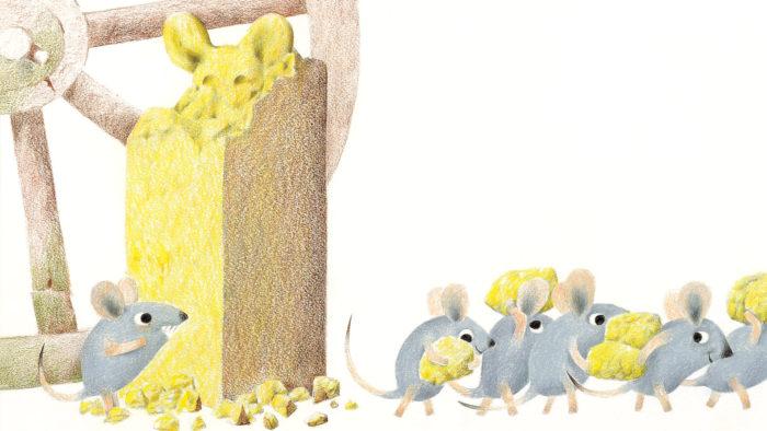 レオ・レオニ おんがくねずみジェラルディン Leo Lionni - Geraldine, the Music Mouse 1920x1080