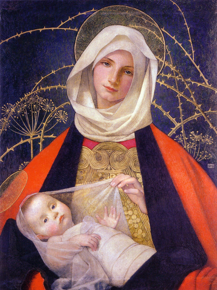 Marianne Stokes - Madonna and Child 2048x2732
