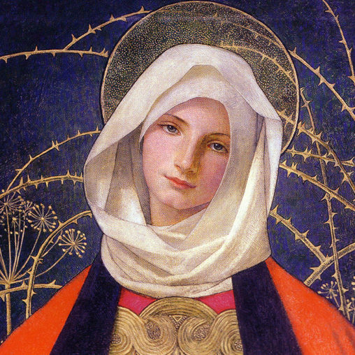 Marianne Stokes - Madonna and Child d