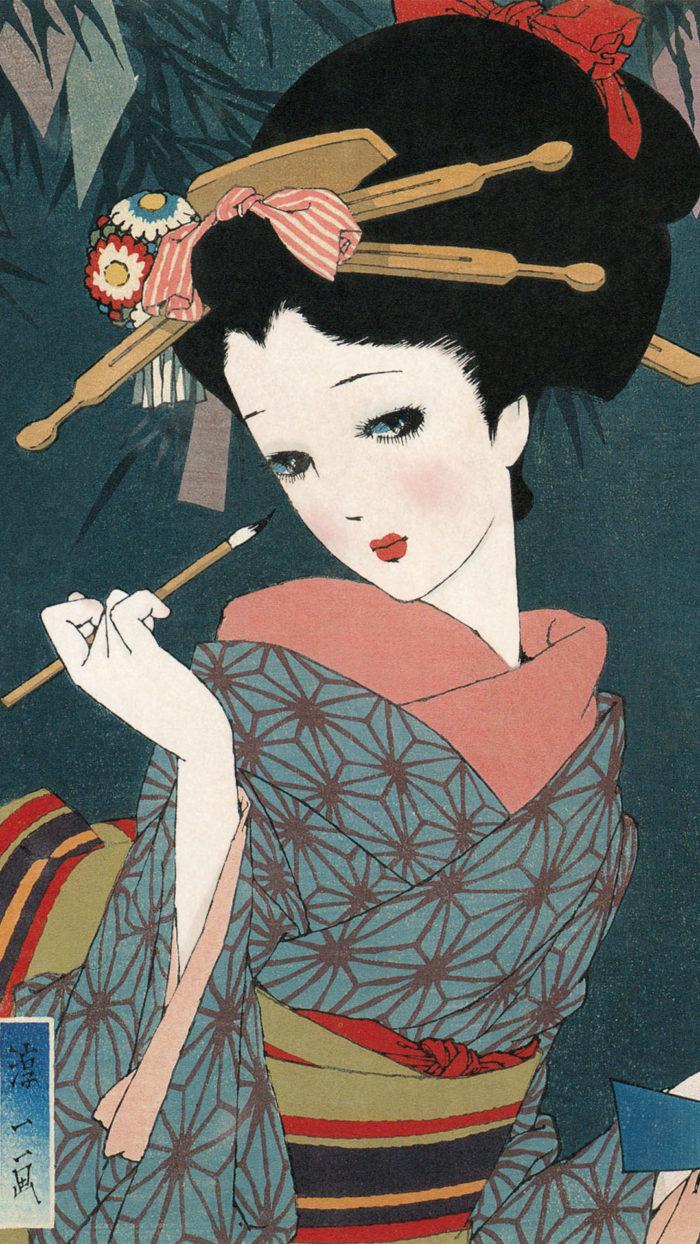 Nakahara Junichi – Musume 12 emaki 07 tanabata 1080×1920