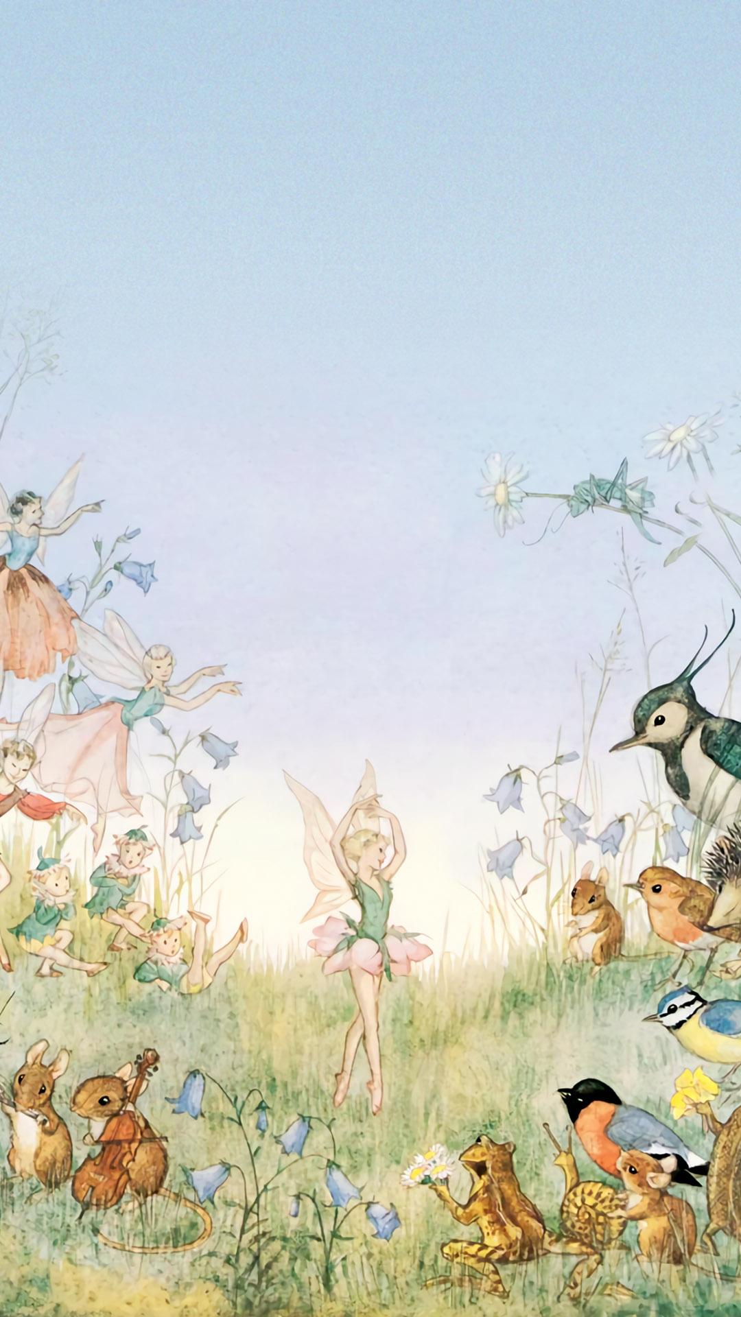 モリー・ブルット Molly Brett - The Flower Ballet 1080x1920
