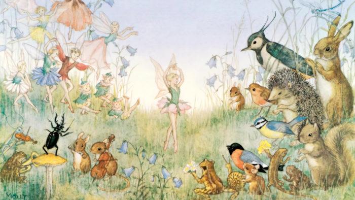 モリー・ブルット Molly Brett - The Flower Ballet 1920x1080