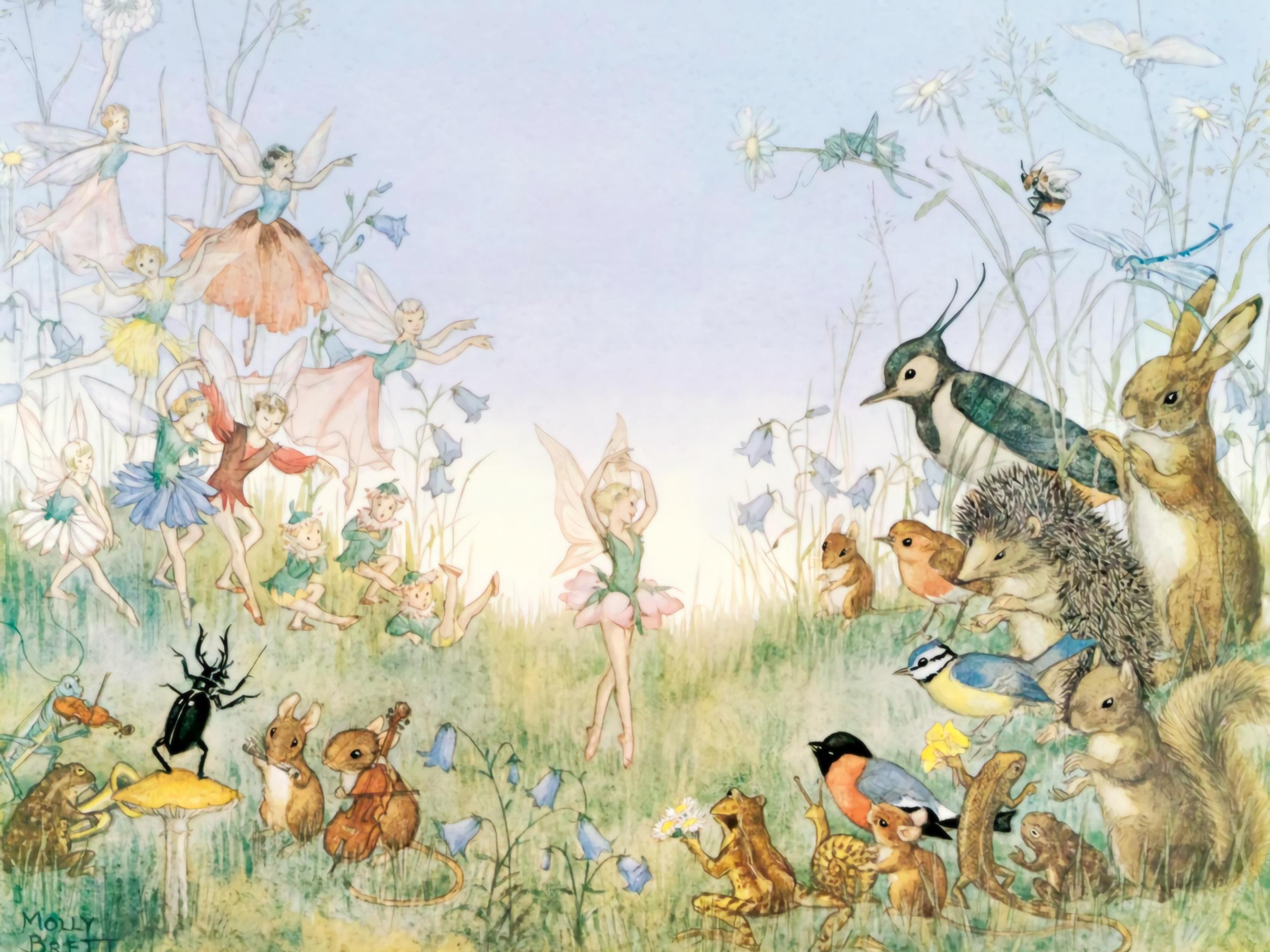 モリー・ブルット Molly Brett - The Flower Ballet 2732x2048