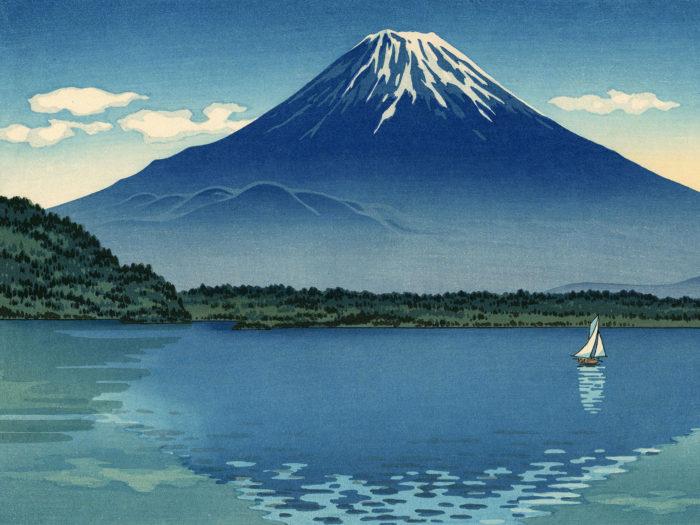 土屋光逸 精進湖 Tsuchiya Koitsu - Shoji ko 2732x2048