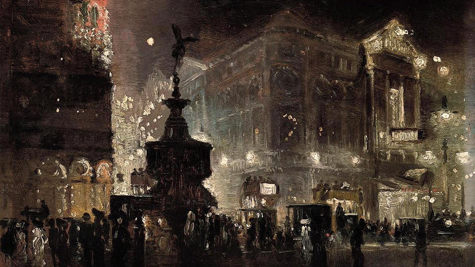 ジョージ・ハイド・ポウナル George Hyde Pownall - Piccadilly Circus 1920x1080