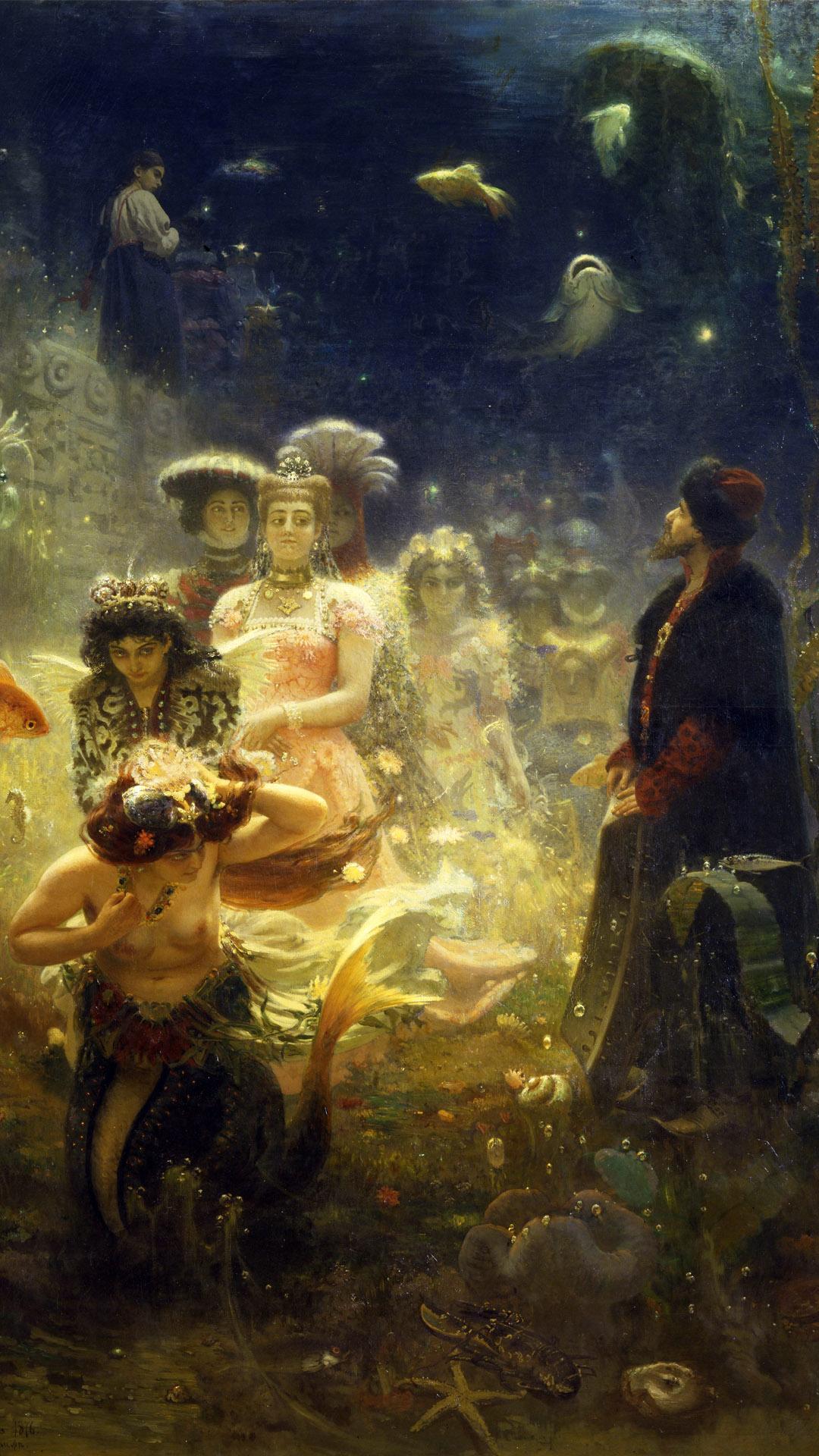 イリヤ・レーピン サドコ Ilya Repin - Sadko 1080x1920