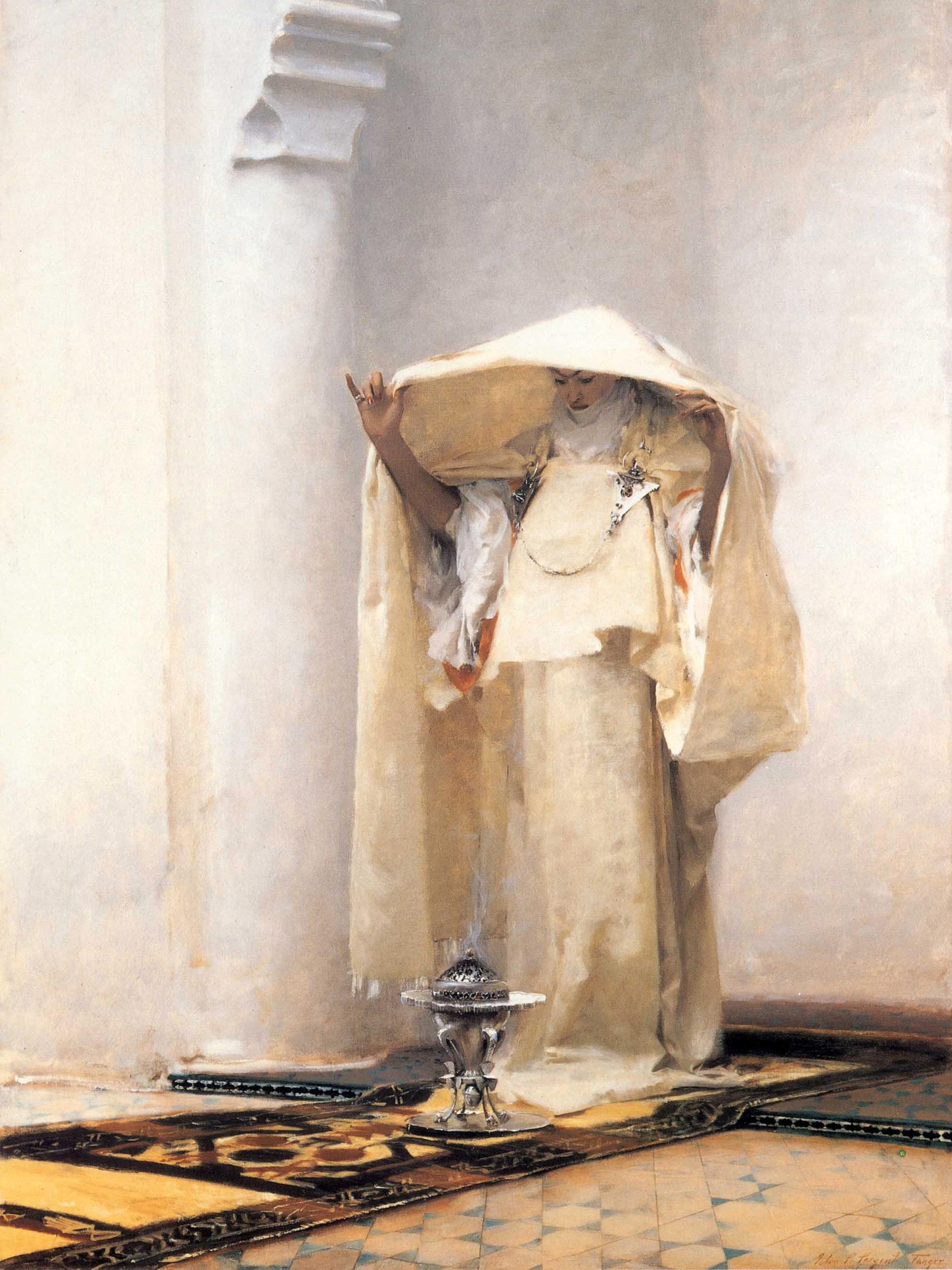 ジョン・シンガー・サージェント John Singer Sargent - Incensing the Veil 2048x2732