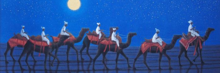 Hirayama Ikuo - Caravan on the Silk Road 1500x500
