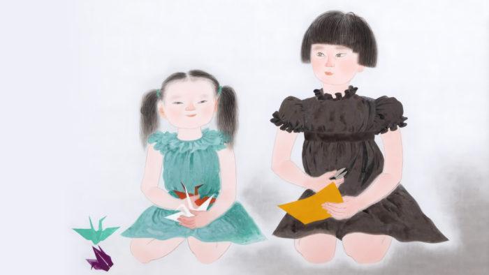 小倉遊亀 姉妹 Ogura Yuki - Shimai 1920x1080